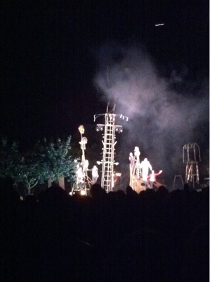 feu d'artifice mont saint aignan